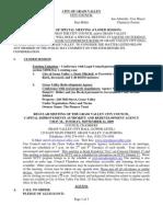 Grass Valley City Council agenda