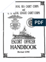 Escort Officers Handbook