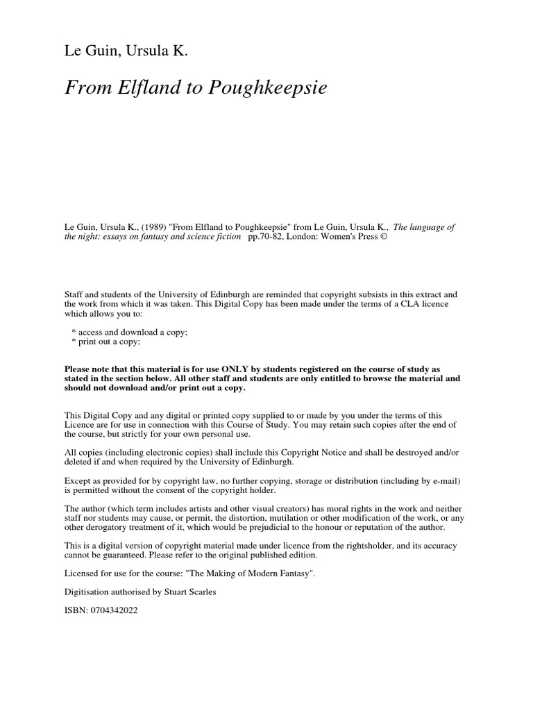 from elfland to poughkeepsie pdf
