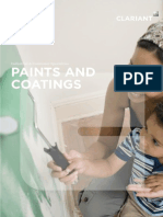 Clariant Additives for Paints