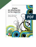 Libro Tecnologias de Informacion en Los Negocios