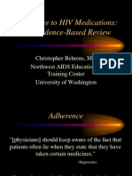 Adherence Evidence-Based - C Behrens