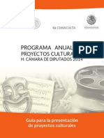 Programa Anual Proyectos Culturales