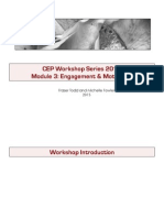 3. Engagement and Motivation for CEP Workshop (NXPowerLite)