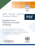 Sexualité infantile - Standards-OMS_fr