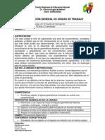 PLANIFICACIÓN GENERAL DE UNIDAD DE TRABAJO