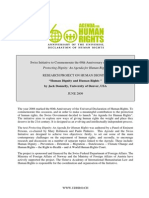 HUMAN DIGNITY AND HUMAN RIGHTS