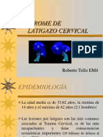 Sindrome de Latigazo Cervical