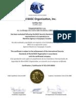 Docs Certificacionbasc