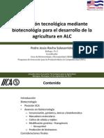 Taller de Biotecnologia Iica Sep 2013