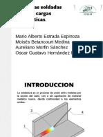 Juntas Soldadas Sobre Cargas Estaticas.