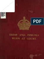 (1921) Dress & Insignia Worn at His  Majesty's Court
