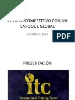 El Exito Competitivo Con Enfoque Global
