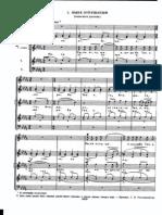 Sergei Rachmaninoff's Vesper No. 5