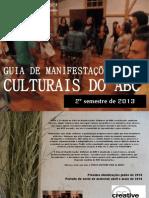 Guia de manifestações culturais ABC, dez 2013