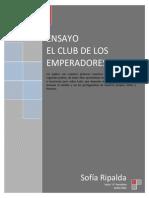 ENSAYO EL CLUB DE LOS EMPERADORES.docx