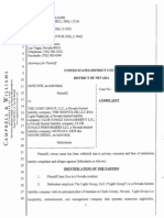 """The Light Group, LLC / """"Moose Diesel"""" Sexual Harassment Complaint (2013)"""