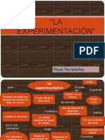 LA   EXPERIMENTACIÓN Ino