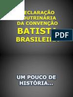 Declaração Doutrinária da Convenção Batista Brasileira