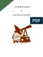 Astronomía y Navegación