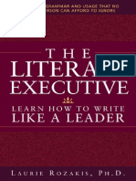 Literate Executive Learn How to Write Like Leader