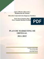 Plan de Marketing de Ortegal 2011-2015