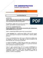 caderno - DIREITO ADMINISTRATIVO - Celso Spitzcovsky - Dam ísio - 2010 - 1-¦ semestre