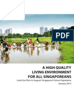 Land Use Plan to Support Singapore
