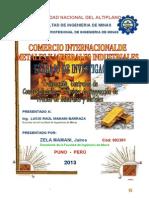 Trabajo II Transaccion de Minerales y Metales