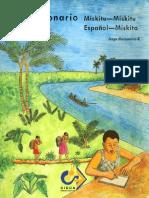 Diccionario Español - Miskito