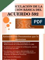 LA ARTICULACIÓN DE LA EDUCACIÓN BÁSICA DEL