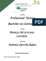 Portafolio de Evidencias de Manejo Del Proceso Contable