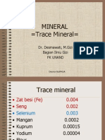 Kuliah mikromineral- FKM