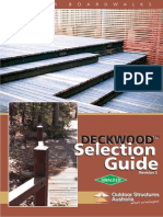 Deckwood Selection Guide