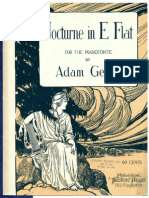 Nocturne in E Flat Adam Geibel