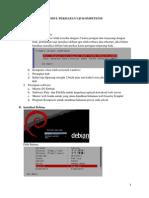 Modul Persiapan Uji Kompetensi TKJ 2014 dengan debian 5