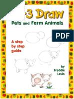 Draw Pets and Farm Animals