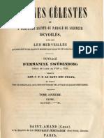 Em-Swedenborg-ARCANES-CELESTES-TomeOnzième-2sur2-Exode-V-VIII-Numeros-7080-7487-LeBoysDesGuays-1847-91