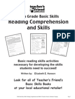 5th Grade Basic Skills- Reading Comprehension and Skills