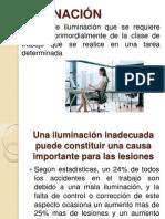 Condiciones de Iluminacion en Los Centros de Trabajo