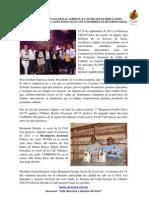 Nota Prensa Hexacampeon Calidad Cafe Tunki 2013