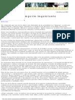Lozada, Martín - Un imperio inquietante