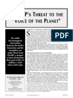 Haarps Threat to the Voice of the Planet
