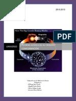 Historía de la ciencia el universo