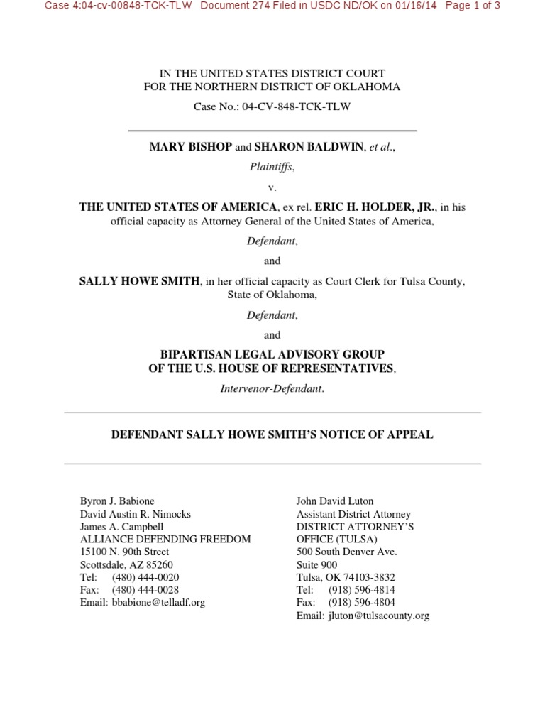 4:04-cv-00848 #274 | United States District Court | Lawyer
