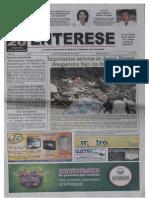 Corrupción y detrimento patrimonial en la administración de Silverio Montaña Montaña, en Aquitania, parte II. Periódico Entérese, 8 de mayo de 2011