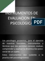 2 Instrumentos de Evaluacion en Psicologica