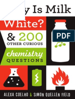 Why is Milk White-Table of Contents