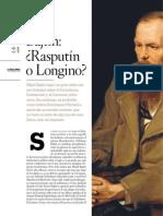 Bajtin, Rasputín o Longino, christopher _dominguez, septiembre, 2013