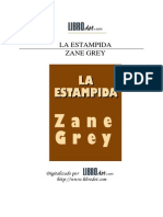 Grey, Zane - La Estampida